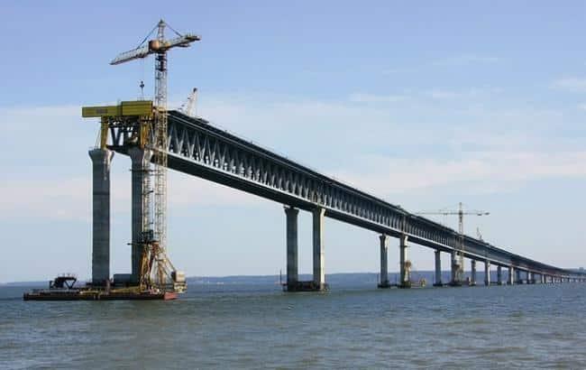 Стройка десятилетия: хорошие вакансии вахтой на строительство моста в Крым
