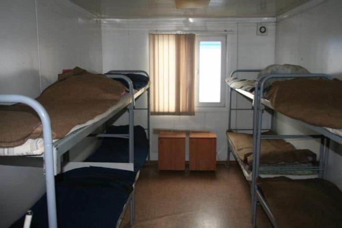 Общежитие для охранников вахтовиков