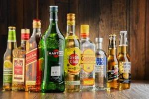 Основные разновидности алкогольной продукции